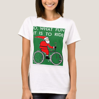 biking Christmas gear T-Shirt