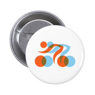 Biking_Fever_2_cyclers.png 6 Cm Round Badge