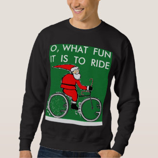 biking gear for Christmas Pullover Sweatshirts
