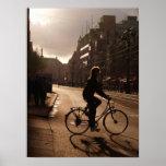 Biking in Amsterdam Poster