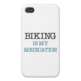 Biking is my Medication iPhone 4 Cover