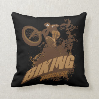 Biking Rocks! Cushion