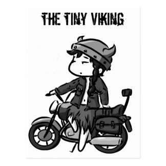 Biking Viking Postcard