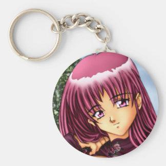 Bikini Anime Girl Keychain