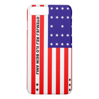 Bikini Atoll flag symbol iPhone 8 Plus/7 Plus Case