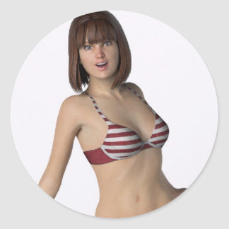 Bikini Girl Bree Sticker