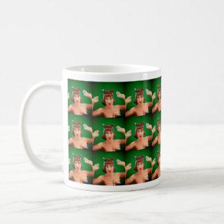 Bikini Girl Tiled Mug