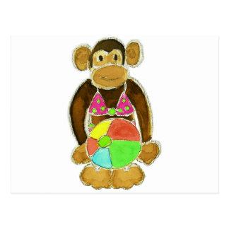 Bikini Monkey Post Cards