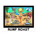 Bikini Rump Roast Funny Offbeat Tees & Gifts Postcard