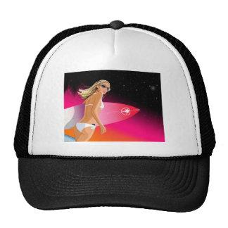 Bikini_Surfboard Cap