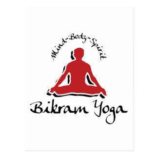 Bikram Yoga Gift Postcard