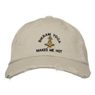 Bikram Yoga Makes Me Hot Cap Embroidered Baseball Cap