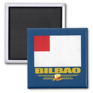 Bilbao Square Magnet