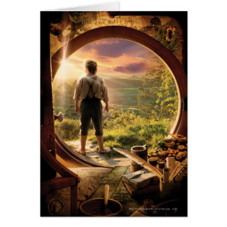 BILBO BAGGINS™ Back in Shire Collage Card