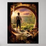 BILBO BAGGINS™ Back in Shire Collage Poster