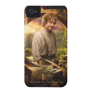 BILBO BAGGINS™ in Shire Collage Case-Mate iPhone 4 Case