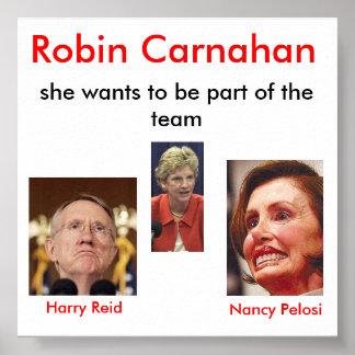 bilde, nancy_pelosi, harry_reid, Robin Carnahan... Print