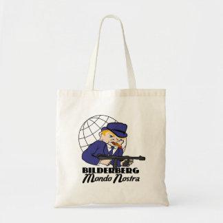 Bilderberg Mondo Nostra Budget Tote Bag
