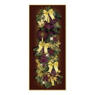 "Bildkarte ""Victorian Christmas"" Vers01 10 Cm X 24 Cm Invitation Card"