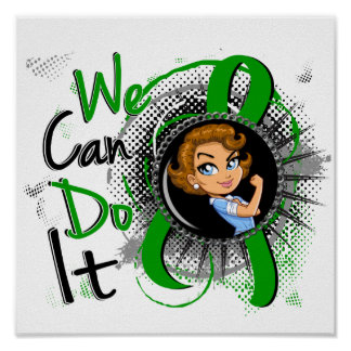 Bile Duct Cancer Rosie Cartoon WCDI Posters