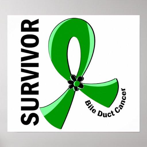 Bile Duct Cancer Survivor 12 Print