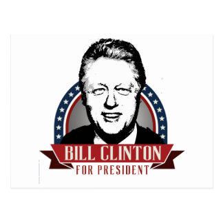 BILL CLINTON 2016 SPANGLE -.png Post Cards