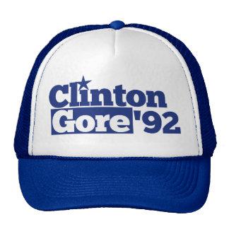 Bill Clinton Al Gore 1992 retro politics Mesh Hat
