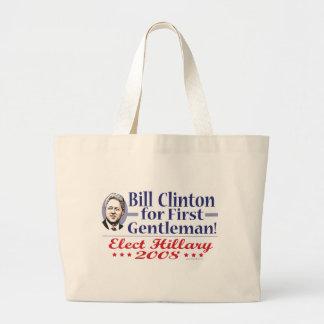 Bill Clinton For First Gentleman Bag