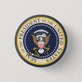 Bill Clinton : Presidential Seal : Button