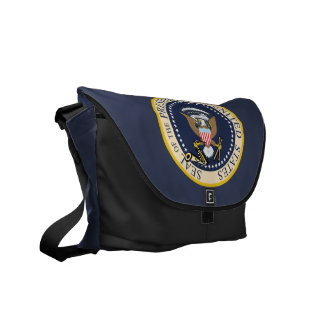 Bill Clinton : Presidential Seal : Messenger Bag