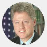 Bill Clinton Sticker