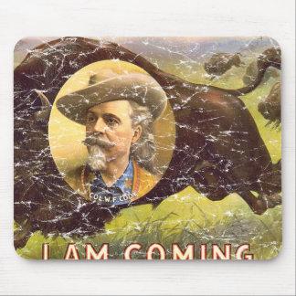 Bill Cody -1899 - distressed Mousepad