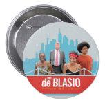 Bill de Blasio for NYC Mayor in 2013 Pins