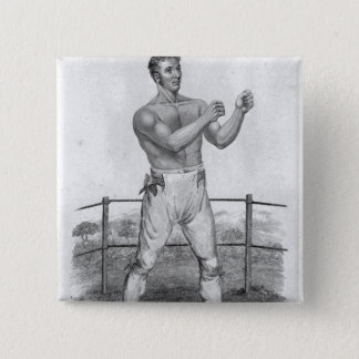 Bill Neat, engraved by Percy Roberts 15 Cm Square Badge