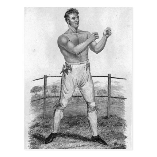 Bill Neat, engraved by Percy Roberts Post Card