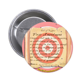 Bill of Rights Pinback Buttons