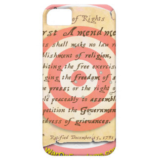 Bill of Rights iPhone 5 Cases