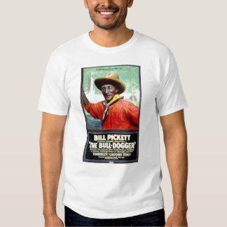 Bill Pickett The Bull-Dogger 1921 silent film Tshirt