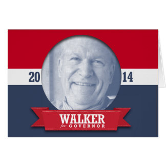BILL WALKER CAMPAIGN GREETING CARDS