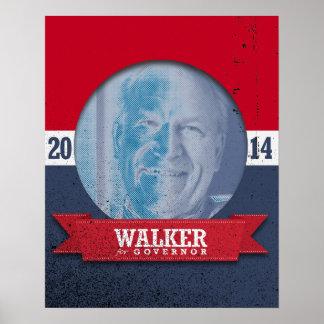 BILL WALKER CAMPAIGN POSTER
