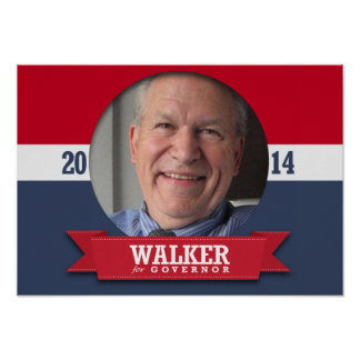 BILL WALKER CAMPAIGN POSTERS