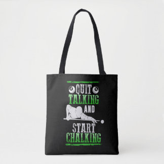 Billard Style Tote Bag