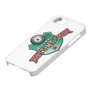 billard - that's my sport iPhone 5 case