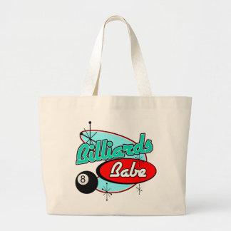 Billards Babe Jumbo Tote Bag