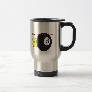 Billards Travel Mug. Travel Mug