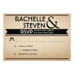 Billboard Wedding RSVP Invite