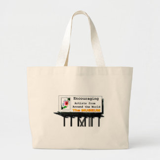 Billboard Your Ad Here Encouraging The MUSEUM Zazz Canvas Bags