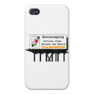 Billboard Your Ad Here Encouraging The MUSEUM Zazz iPhone 4/4S Case