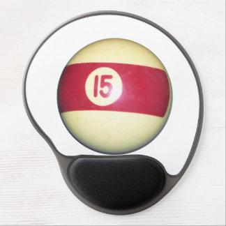 Billiard Ball #15 Gel Mousepad