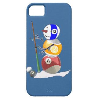 Billiard Ball Snowman iPhone 5 Covers